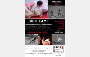 STAGE JUDO MULTISPORT - JUDO CAMP